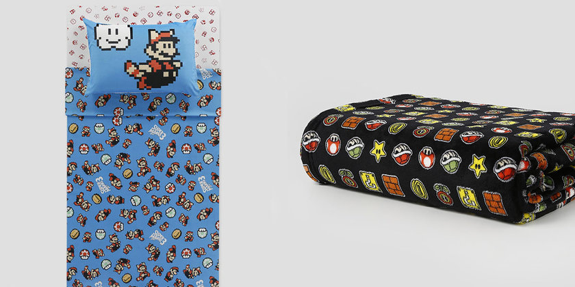 Riachuelo lança novos produtos da linha Super Mario Bros para a casa 8bdb6dc1230