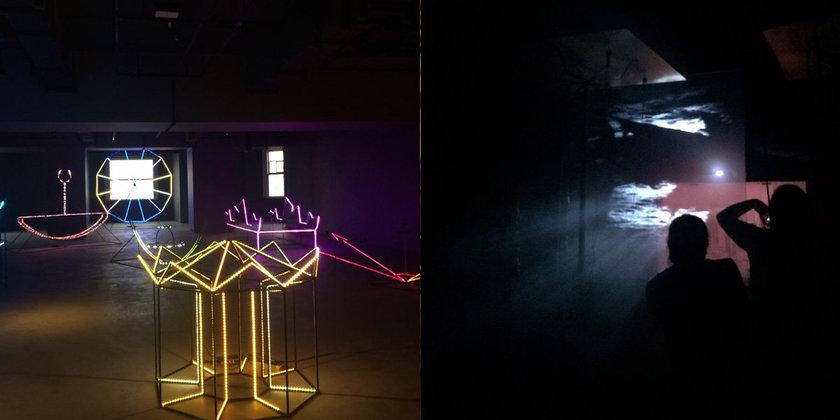 exposição luz e arte reflexão e emissão são paulo oba oba