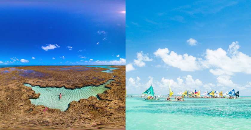 Conheça Porto de Galinhas, paraíso que reúne piscinas naturais e águas  cristalinas em Pernambuco 83b7e36354