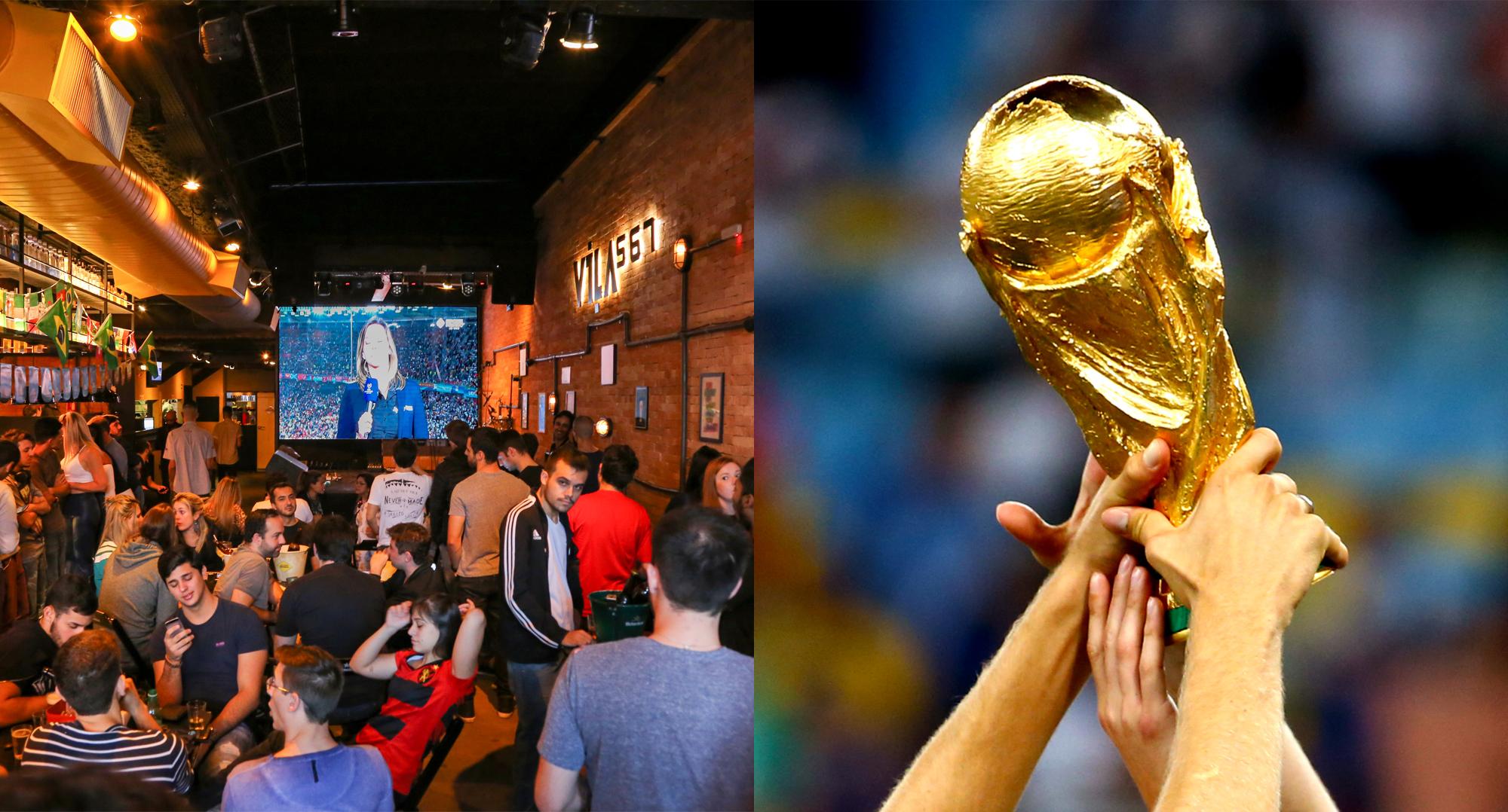 21 bares em São Paulo para assistir aos jogos da Copa do Mundo de 2018