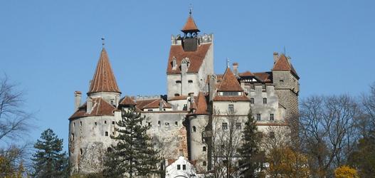 lugares mais assustadores  Castelo de Bran, Romênia