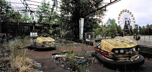 lugares mais assustadores pryipyat na ucrania