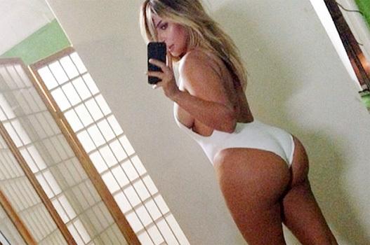 selfie da Kim Kardashian