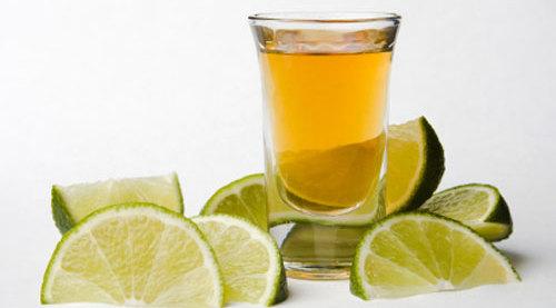 bebida pouco calórica tequila