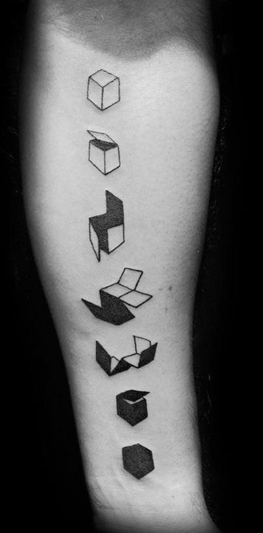 tatuagens geométricas